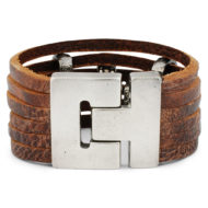 leather-bracelet-giada-brown-backside