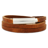 leather-bracelet-wrapper-brown